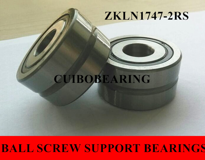 ball screw support bearings zkln1747 2rs