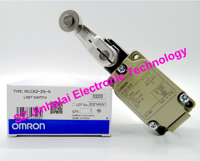100% New and original  WLCA2-2N-N  OMRON  LIMIT SWITCH [zob] 100% brand new original authentic omron omron limit switch d4e 1d10n