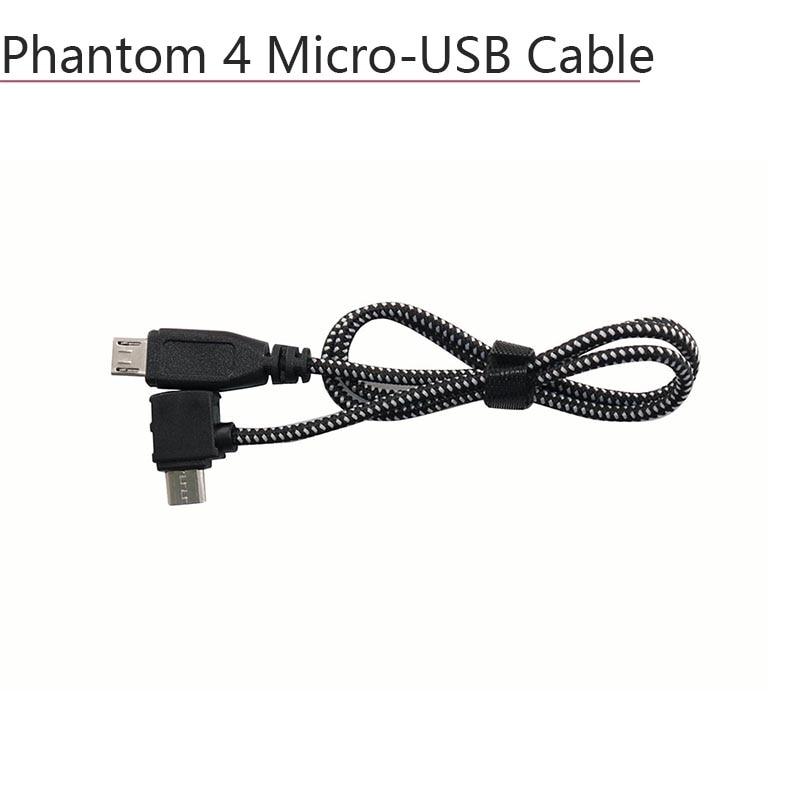 Nylon Cable Micro USB IOS Type C Update Connector USB OTG