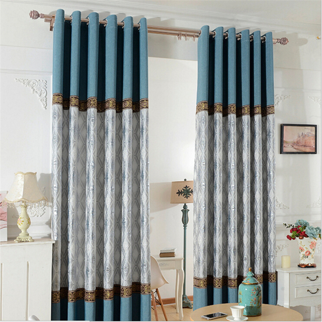 Curtains For Living Room Kitchen Bay Window Decorative Curtain Splice  Window Screening Blinds Curtains Part 34