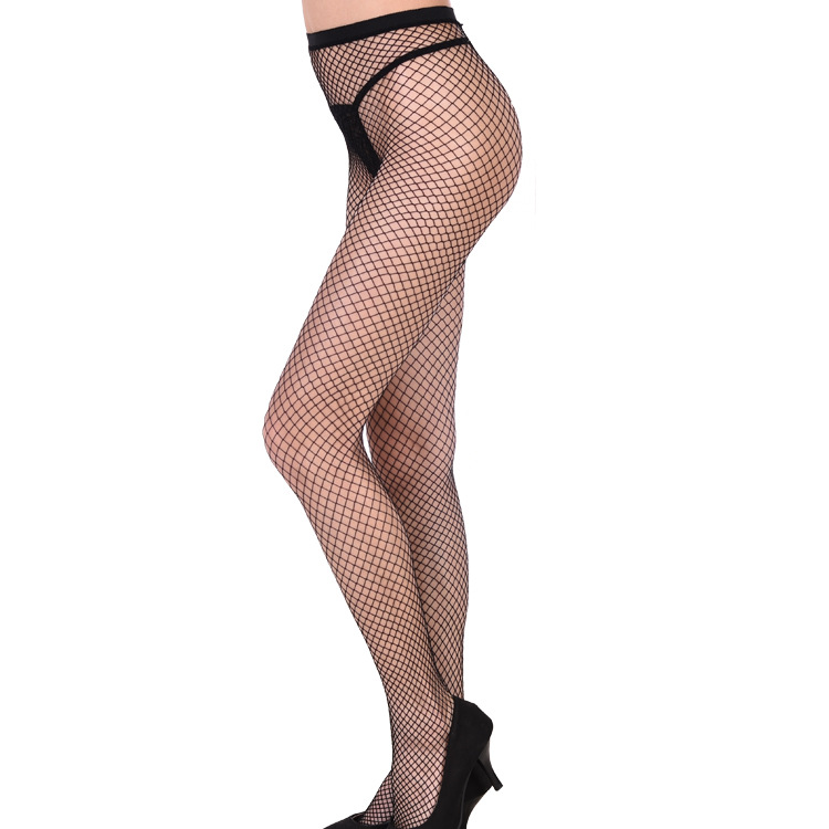 New Women Exotic Apparel Black Thigh High Stockings Lady Sexy Fishnet Stockings Stay Up Stockings Socks Hosiery Tights plus Size