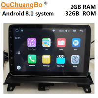 Ouchuangbo android 8.1 car stereo radio recorder for MG 3 MG3 suppport gps navigation 10.1 inch 2GB+32GB