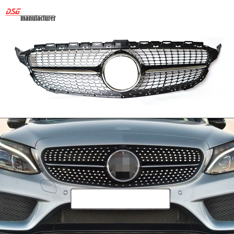 Popular diamond grill buy cheap diamond grill lots from for Mercedes benz grills