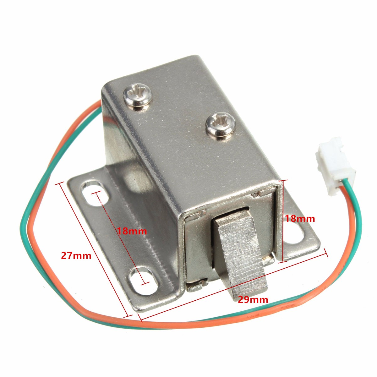 Solenoid-Lock 12VDC 27x29x18mm Drawer Electric-Lock-Assembly Cabinet-Door Small Lowest-Price