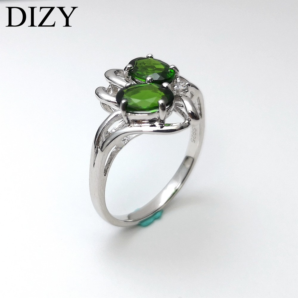 Heart Shape Dark Green Diopside Gemstone Ring Green Diopside 925 sterling silver Ring Diopside Quartz ring Artisan Gift Handmade Jewelry
