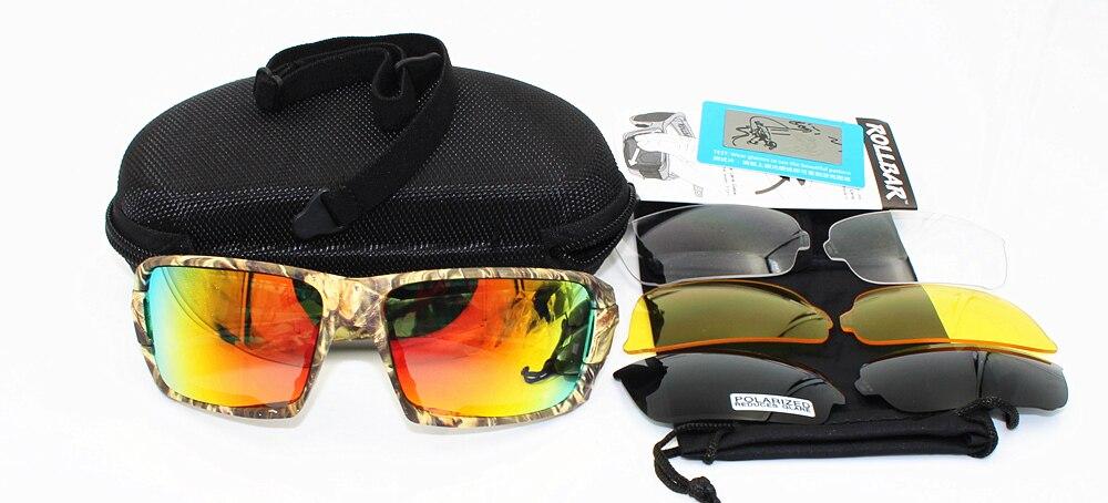 19aaf99d1d 4 lentes: lente roja revo + lente transparente + lente polarizada+  Amarillo, lente. Daisy X7 militar gafas bala prueba ejército gafas de sol  polarizadas ...