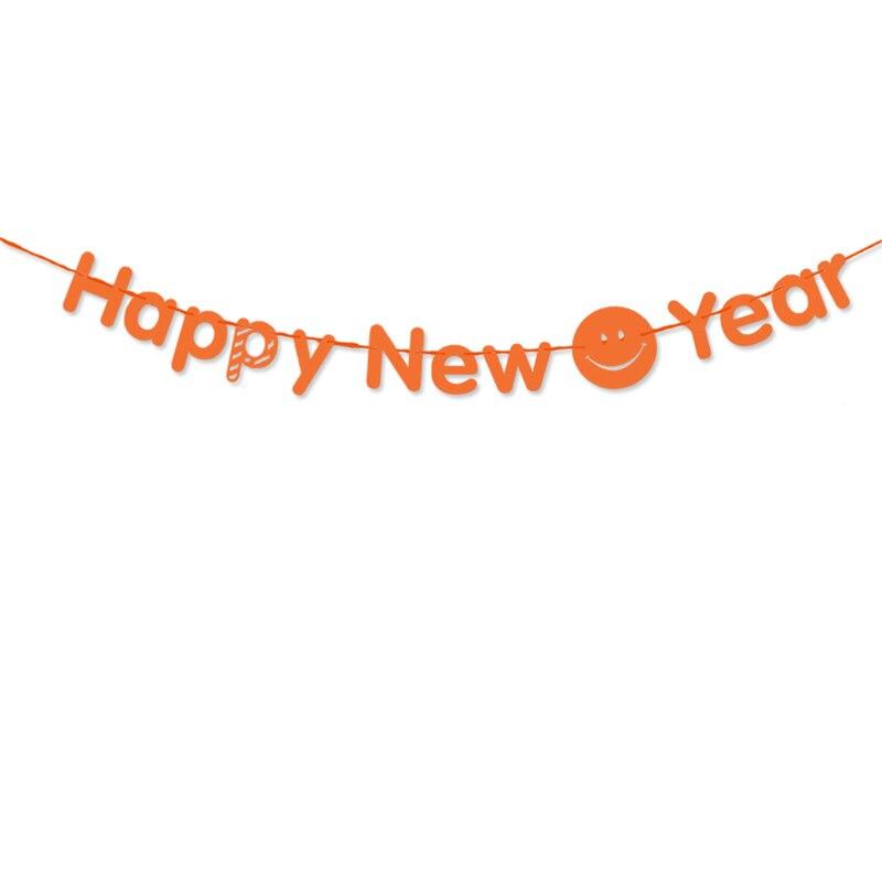 Happy New Year Orange 20