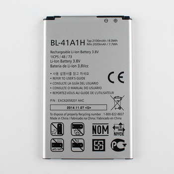 цена на Original Optimus F60 Phone  Internal Battery for LG Optimus F60 MS395 D390N Tribute VS810PP Transpyre LS660 BL-41A1H