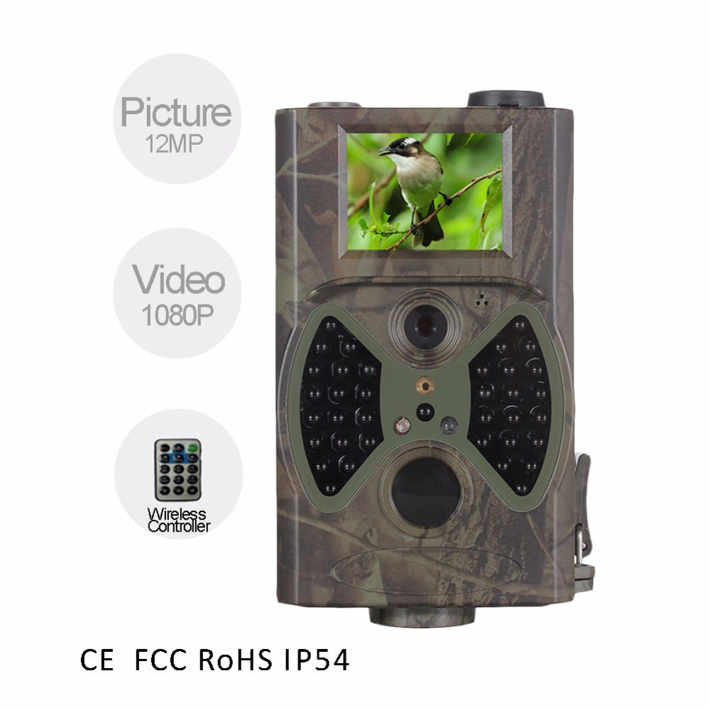 ФОТО 12MP Infrared Night Vision Trail camera Deer Hunting Camera Chepeast Scouting camera