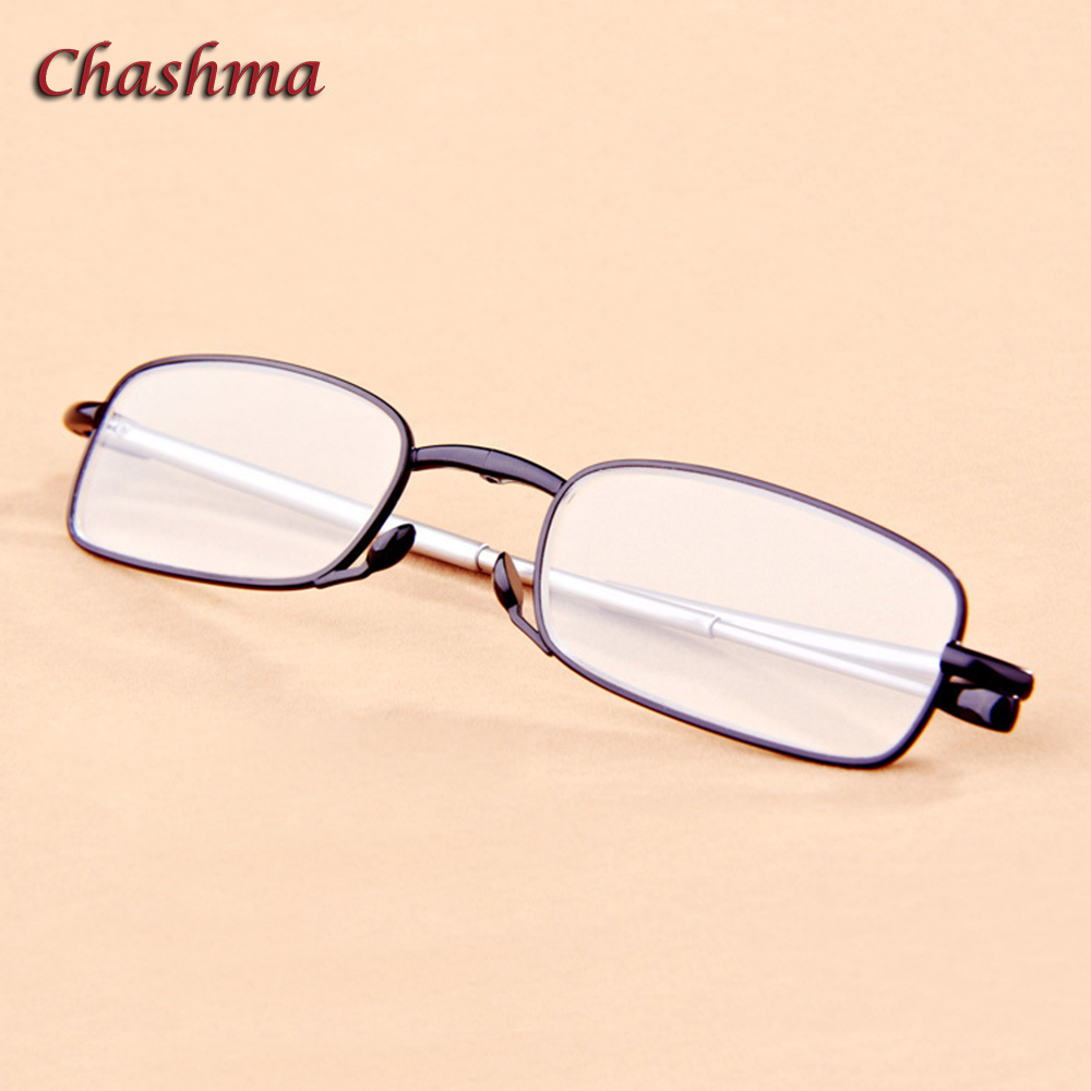 Chashma Brand Anti Reflective Foldable Eyewear Ultra Light High Quality Eyewear Folding Optical Reading Glasses in Women 39 s Reading Glasses from Apparel Accessories