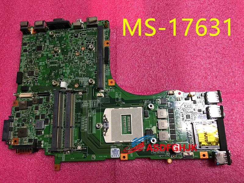 D'origine POUR Medion Erazer X7829 MÈRE D'ORDINATEUR PORTABLE GT70 CARTE MÈRE MS-1763 MS-17631 REV 2.0 Test OK