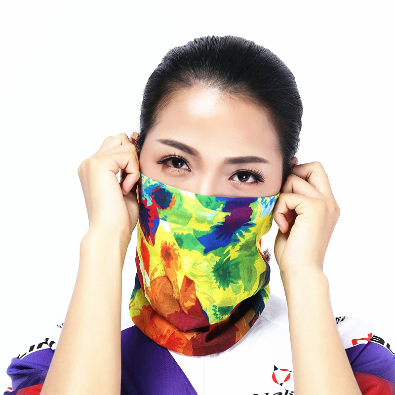1 Pcs Free Shipping Scarves Women Men Polyester Wind Dust UV Protective Bandana Motorcycle Riding Scarf Neck Warmer Hijab Scarf