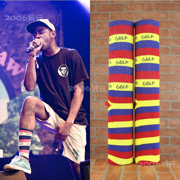 a7eb9fc943a7 (Retail) Odd Future Socks Odd Future Donut Socks OFWGKTA Tyler The Creator  OF Socks-in Men s Socks from Underwear   Sleepwears on Aliexpress.com
