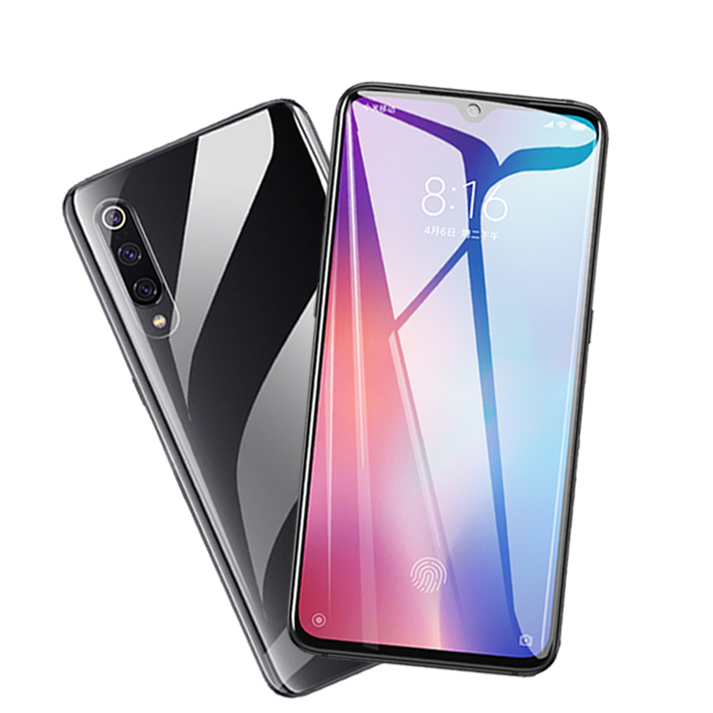2PCS for Xiaomi Mi 9 SE Glass Full Glue Coverage Screen Protector Glass for Xiaomi Mi 9 SE Glass for Xiaomi Mi 9 SE Film in Phone Screen Protectors from Cellphones Telecommunications