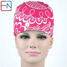 NEW  long hair surgical caps with sweatband doctors and nurses 100% cotton
