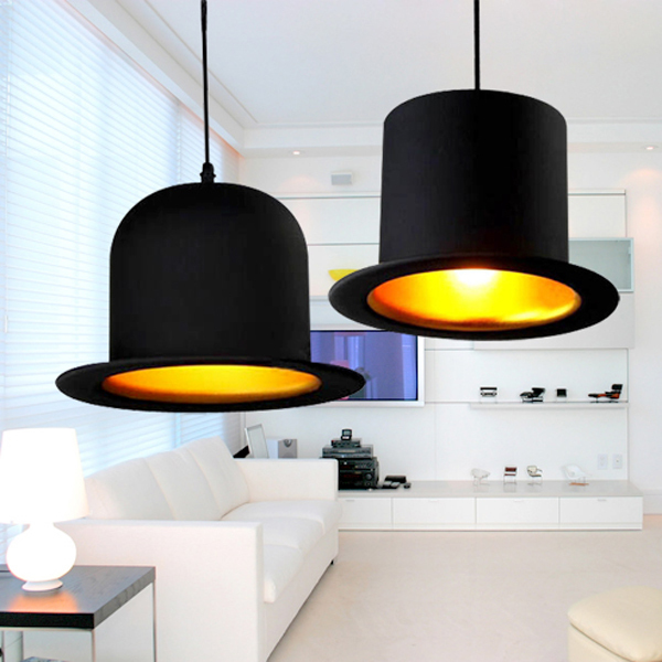 2014innovative items e27 lamp holder jeeves wooster top hat 2014innovative items e27 lamp holder jeeves wooster top hat pendant lights round aluminum bowler hat lights lampshade in pendant lights from lights aloadofball Choice Image