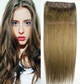 "16""-32"" 1Pcs Set Single Hairpieces #10 100% Brazilian Human Hair Clips In/on Extensions 70g 80g 100g 120g 140g 160g"
