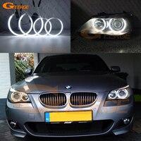 For BMW E60 E61 525I 530I 540I 545I 550I M5 2003 2007 Xenon Headlight Excellent Ultra bright illumination CCFL angel eyes kit