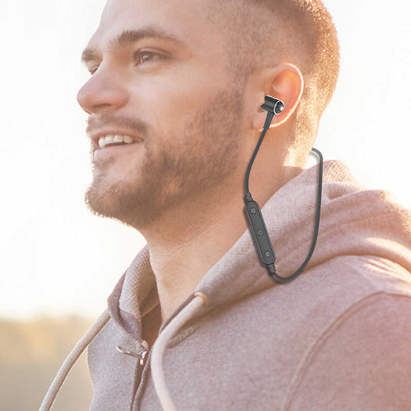 TAI NGHE AWEI B930BL Tai Nghe Không Dây Tai Nghe Bluetooth Thể Thao Stereo Loại Bỏ Tiếng Ồn Earfone Tai Nghe Tai Nghe Nhét Tai Cho iPhone Điện Thoại Samsung