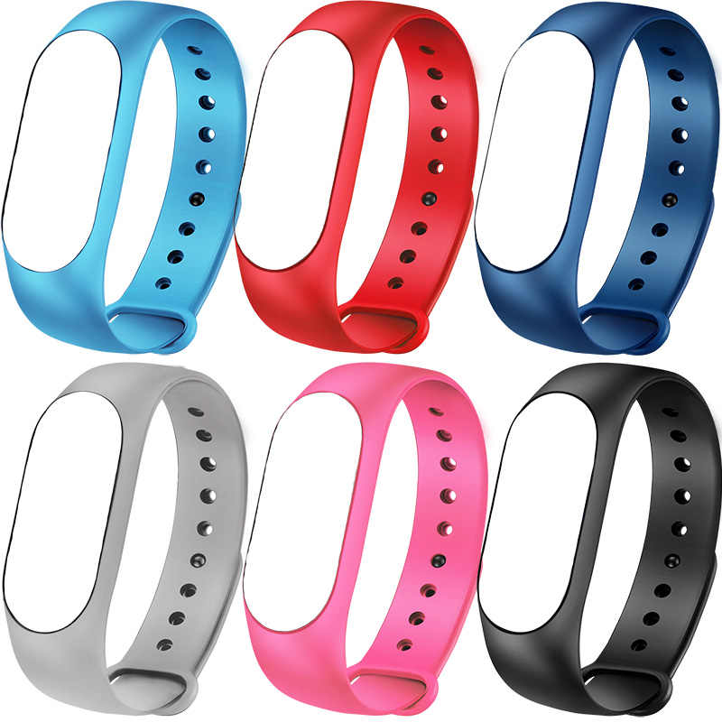 Smart Bracelet watch Strap M3 Strap Black Red Pink Blue Six colors for BW0020 BW0032 BW0036 Smart watch Wristband