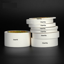 White High Temperature Single Sided Can Tear Write Adhesive Masking Tape Office Car Auto Body Paint