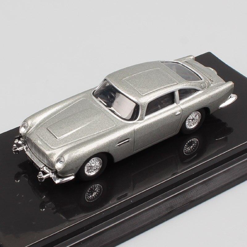 1:64 Scale kyosho vintage 007 James Bond Aston Martin DB5 luxury grand tourer GT sedan diecast model toy car minicar collection james martin