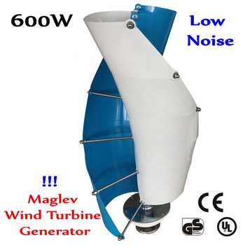 maglev wind generator 600w 12/24v vertical axis wind turbine 600W 12v/24v Magnetic-levitation Wind Turbine Generator - DISCOUNT ITEM  26% OFF All Category