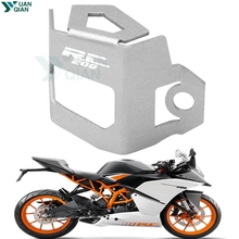 For KTM RC 200 Motorcycle Rear Brake Fluid Reservoir Guard Cover Protect For rc 200 цена