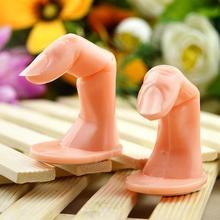 Профессиональный дизайн ногтей тренировка дисплей ложные советы палец поддельные руки акриловый УФ-гель для маникюра инструмент для ногтей
