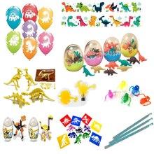 Бесплатная доставка, большой размер, мальчики 50x динозавр, динозавр, тематическая игрушка, набор, вечерние игрушки, подарки, сумка, наполнители для пиньяты, детский ассортимент