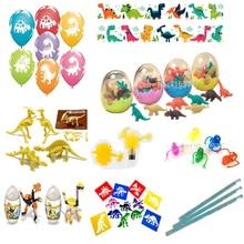 Dinosaurios de juguete temático para niños 50x, gran valor, envío gratuito, lote de juguetes de fiesta, regalos, bolsa de botín, relleno para piñatas, surtido para niños