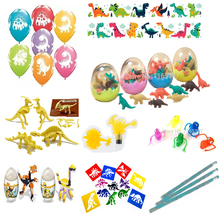 Free ship great value 50pc DINOSAUR theme toy assortment party toys favors gifts loot bag pinata fillers kids