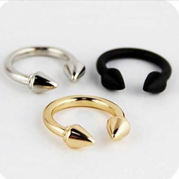 Мини заказ $1) преувеличенный наплыв людей в Европе и Америке ретро панк заклепки стрелка женское кольцо на палец CRD128