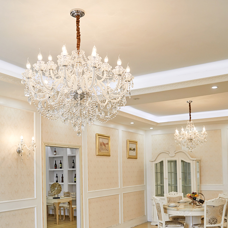 Modern Lighting Chandeliers Home Decorators Collection Light Candelabros Crystal Pendant Chandelier Dining Room Lamps Bed Room - 2