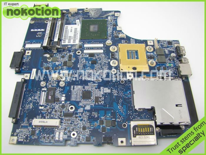NOKOTION 11S41W8025 FOR Lenovo 3000 N100 Laptop mainboard LA-3161P FRU:41W8032 41W1199 945GM DDR2 motherboard 7xinbox 15 2v 50wh laptop battery for lenovo asm p n sb10f46441 fru p n oohw003 4icp5 58 73 2