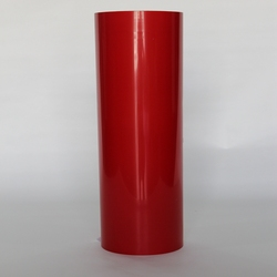 (50cmx25M) PU Flex Adhesive Films Red Color Heat Transfer Vinyl For Clothing PU Iron on Vinyl Film for Tshirts  (20IN*82.02FT)