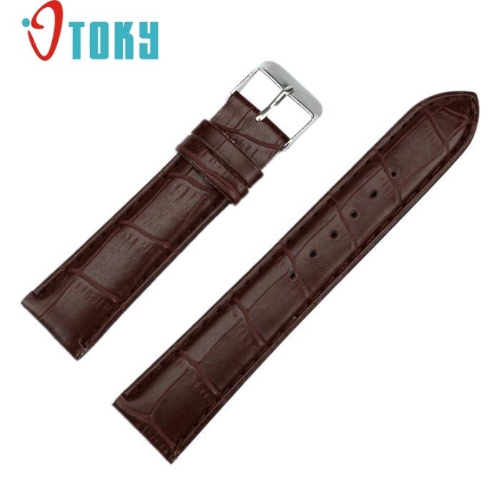 OTOKY Hot Unique Watchbands 20mm Fashion Man Women Leather Strap Watchband Watch Band Drop ship F49 цена