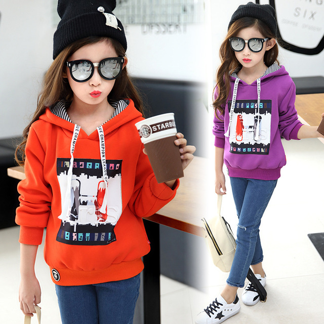 girls autumn sweater  winter clothes kids long sleeved Pullover girl children leisure sweater purple clothes for kids 3-5-9 age