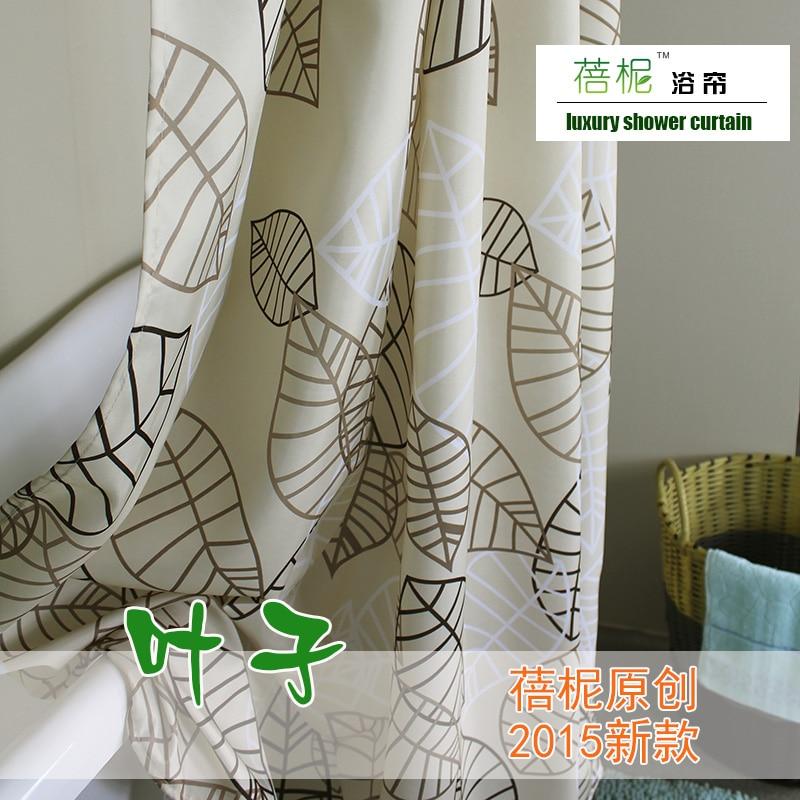 Promoción de diseños de cortinas de baño   compra ...