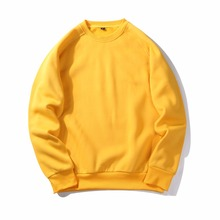 ASALI 2018 New Men Pullover Spring Autumn Fashion Mens Hoodies And Sweatshirts Long Sleeve Solid Sweatshirt Men US/Eur Plus Size