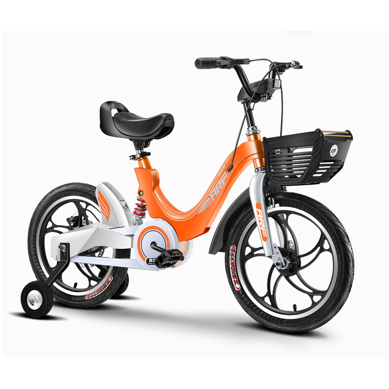 Children's Bicycle Magnesium Alloy Bicycle Integrated Wheel Damping Disc Brake Children's Bicycle.