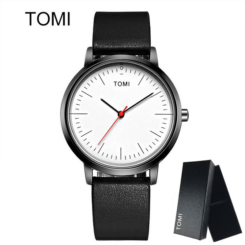 Simple Design Men Women Watches Ultra Thin Fashion Casual ...