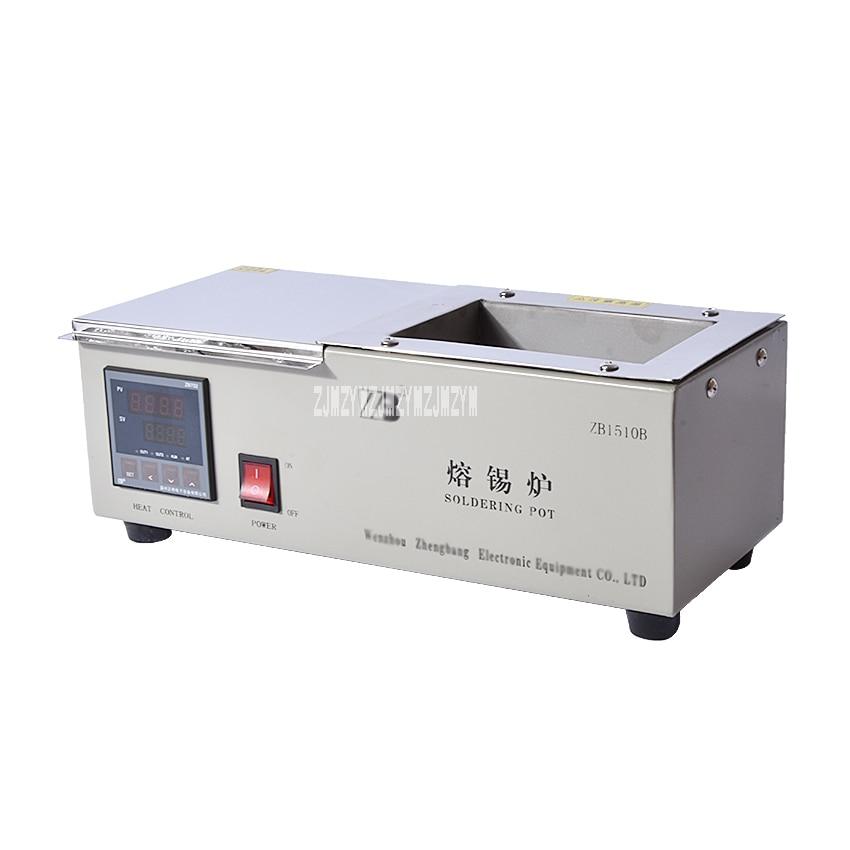1PC Solder Pot ZB1510B/D Digital Display 600W 150* 100* 70mm Soak Soldering Machine Soldering Tin Stove