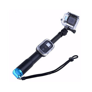 Image 2 - 39 Inch Waterproof Selfie Stick for Gopro Hero 8 7 6 5 4 3 Session Camera For Go Pro Monopod Accessories
