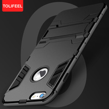 TOLIFEEL For iPhone 6 6S Plus Shockproof Kickstand Case Hybrid Armor Protection Case For iPhone 6 s Silicone Cover Fundas