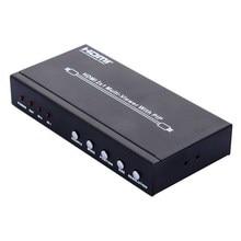 NI5L 2017 Новое Прибытие HDMI 2X1 Мульти Просмотра Splitter С PIP 1080 P Фотография/V Отдел HDTV PC