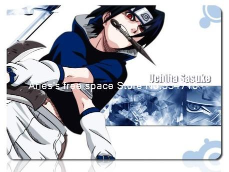 Naruto Uchiha Sasuke mousepad light gaming mouse pad gamer large notbook computer mouse mat 8 size for gear mouse pad