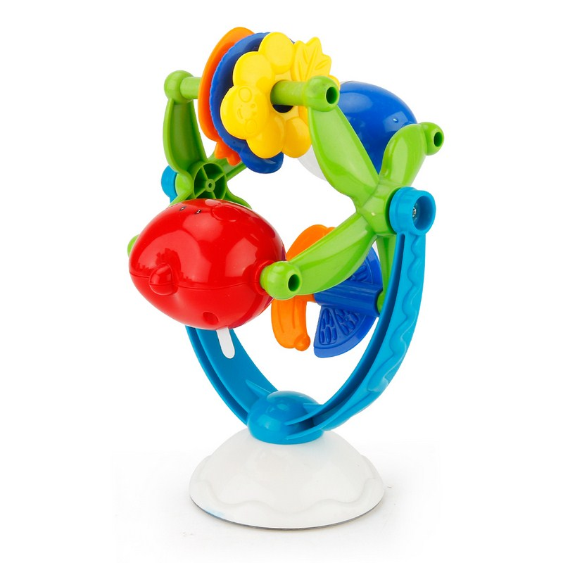 Baby Stand Windmill Vocal Toy Stereoscopic Turntable Windmill Shape Cute Colorful Toy for Amused Baby Children Baby Smile Toy