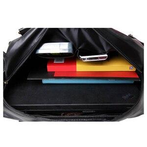 Image 5 - Bolso de hombre ABDB, bolso Retro inglés, bandolera de piel sintética para hombre, bandoleras de viaje para hombre de alta calidad
