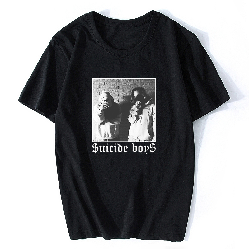 Men T Shirt  $uicideboy$ Suicide Boys Mens T-Shirt Suicideboys Hip Hop Rap Shirt Men Cotton Tee Classic Cool T Shirt Plus Size